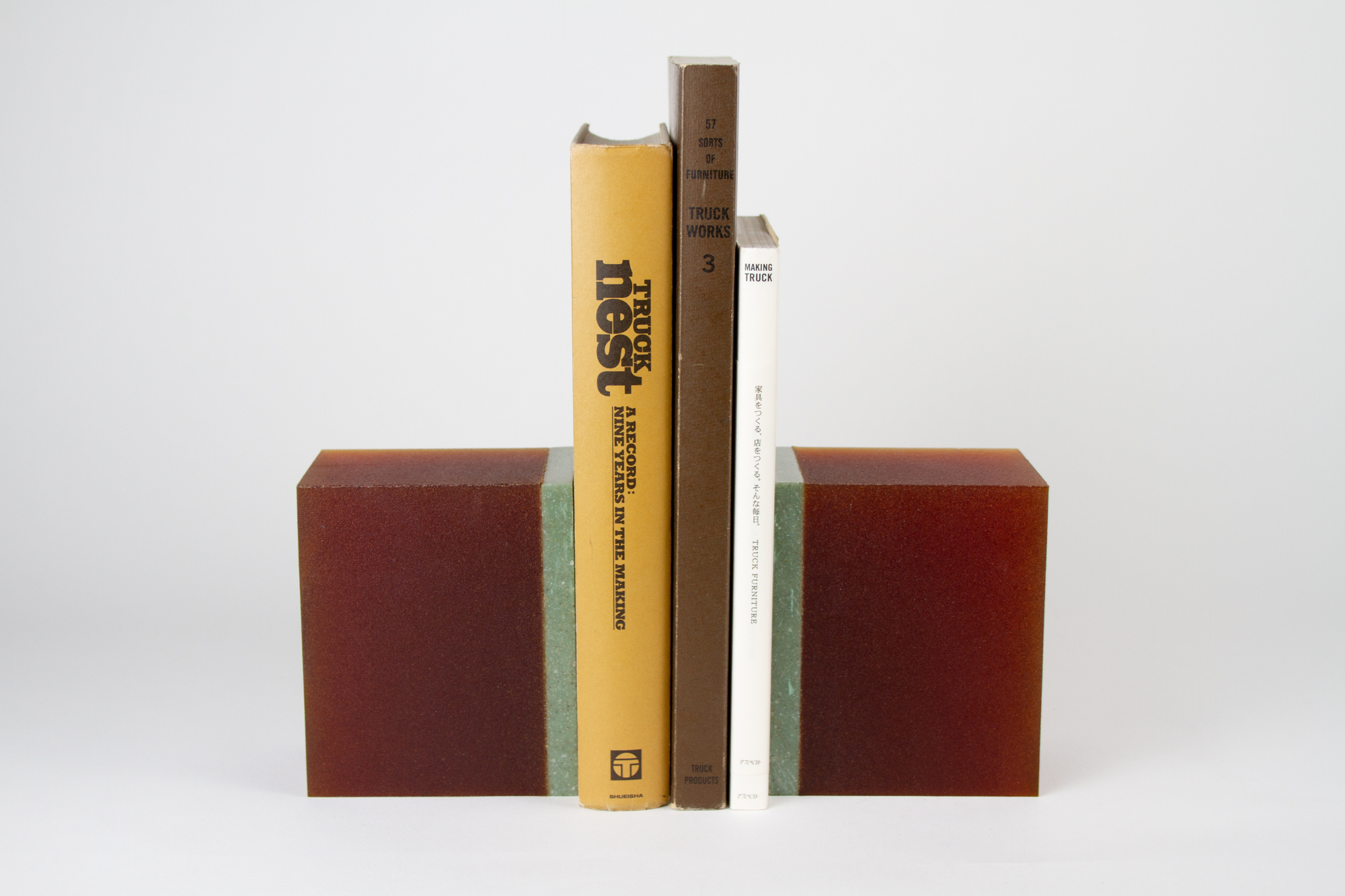 BOOKEND SET - TEAL